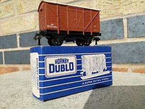 Hornby Dublo 2 and 3 rail B757051 BR Ventilated Van Circa 1958 Boxed Mint