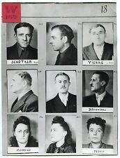 Résistance Française 39/45 - Photos + Négatifs + Planche contact -