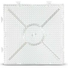 4 x Grundplatte Stiftplatten Steckplatten Bügelperlen Platten Midi 15x15cm, 5mm