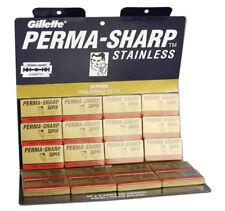 Perma-Sharp Double Edge Safety Razor Blades, 100 Count