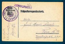 AUSTRIA - 1914-1918 - Cart. Post. militare - Dalla 5. Comp. K.K.LDST Fanteria