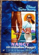 NANCY / THE BIG BOUNCE * A1-Filmposter - German 1-Sheet 1968 RYAN O` NEAL