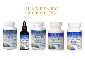 Planetary Herbals FULL SPECTRUM ST JOHN WORT EXT - all sizes - select option