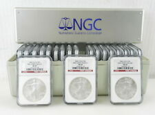 "2006 NGC ""20"" American Silver Eagle FIRST STRIKE #1-#20 MS69 DOLLAR COINS ~ C5"