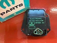New Listing1976-81 Plymouth Dodge Chrysler Voltage Regulator Mopar 3874520 Nos