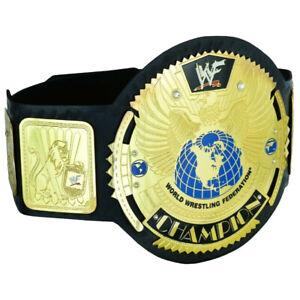 WWF World Wrestling Federation Champion Belt Big Eagle Scratch Logo Leather 2mm