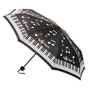 NEW! ARTBRELLA PIANO FOLD OUT STURDY UMBRELLA GREAT GIFT IDEA