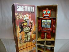 HORIKAWA SH AIJI-01 ROBOT STAR STRIDER - RED L31.0cm BATTERY - EXCELLENT IN BOX