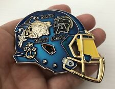 NAVY BLUE ANGELS JETS ARMY FOOTBALL CHALLENGE COIN CPO MESS FLAG N0N NYPD SEALS
