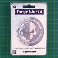 Death Korps of Krieg Autocannon Team 1 Forge World 40K