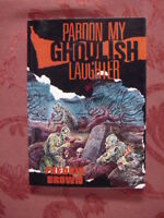 RARE PARDON MY GHOULISH LAUGHTER, by FREDRIC BROWN Detective Pulps Vol 7