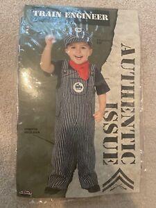 Fun World Train Engineer Conductor Toddler Boys Halloween Costume Small