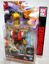 Transformers Power of the Primes Dinobots Snarl Deluxe Figure Volcanicus NEW!