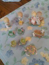 Vintage 1997 Precious Moments Mini Tea Set
