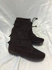 Minnetonka Women's Booties Shoes Black Size 6