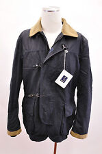 NWT $1630 Fay Berwick Men's Wool Charcoal Gray Jacket Coat Size XXL US