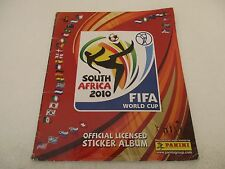 Album Panini WORLD CUP SOUTH AFRICA 2010 - Incomplet 187/640