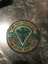 """Rare Vtg Vietnam 70s 42nd Org Maintenance Squadron Patch 3"""" USAF OMS Subdued"""