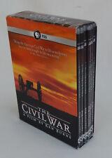 The CIVIL WAR - by Ken Burns 6-Disc DVD Set