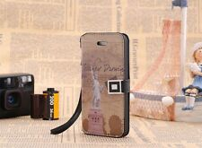 LUXE iPhone 5 pattern Case sac protection Housse Cover étui usa Liberty