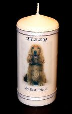 Personalised Candle Gifts Unique Keepsake Best Friend Present Dog Image Him Her
