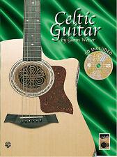 Celtic Guitar Learn to Play Irish Scottish Folk Traditional TAB Music Book & CD