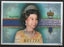 Belize 1985 Royal Visit MS SG865 MNH