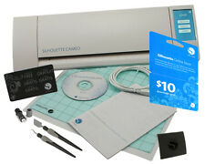 Silhouette CAMEO V2 Digital Cutting Machine + Tools & $10 Download Code Bundle