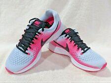 Nike Air Zoom Pegasus 34 Half Blue/Black/Pink Women's Running Shoes-Asst Sz NWB