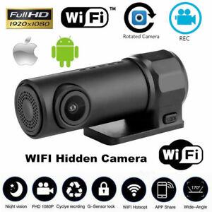 1080P Mini Car DVR Camera Dash Cam  WIFI G-sensor Video Recorder Night Vision HD