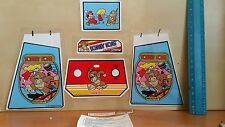 decals for electronic coleco tabletop mini arcade donkey kong