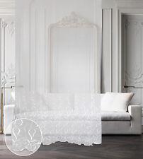 Tenda Corallino ricamata trasparente bianca (col.1)