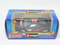 1:43 BURAGO BBURAGO STREET FIRE #4127 LAMBORGHINI COUNTACH 5000 NIB [PM3-040]