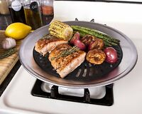 Smokeless Indoor Stove Top Grill Nonstick BBQ Griddle Pan Electric and Gas Stove