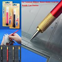 Élaborer Carving Needle Tool Pour Gundam Military Model Kits Handle Can Choose