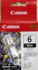 Canon BCI-6BK Black NEW InkCartridge 4706A003 Genuine in SealedOriginal CanonBox
