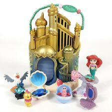 Ariel Disney Animators Mini LITTLE MERMAID Castle Micro Undersea Palace Playset