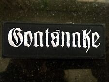 Goatsnake Embroidered Patch Doom Metal
