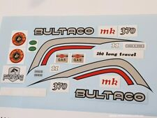 Bultaco Pursang mk11 250 / 370 Decal Set