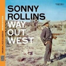 SONNY ROLLINS - WAY OUT WEST (OJC REMASTERS)  CD NEW!