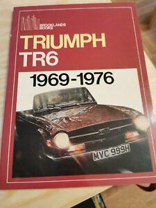 Triumph TR6 1969-1976 Brooklands Books (1969 paperback) vintage collectable