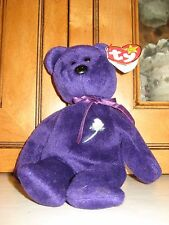 1997 Ty Beanie Baby Princess Diana Bear China 1st Edition Excellent Condition!!!