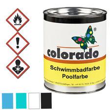 colorado Schwimmbadfarbe Poolfarbe Teichfarbe 1 Liter türkis RAL 6027