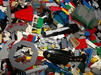 2 POUND LB LEGO LOT 100% LEGO Bulk Bricks Parts Pieces Star Wars, City, etc.
