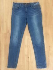 Ladies TARGET Blue Skinny Jeans Size 12 Stretch