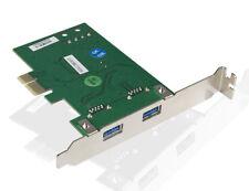 Poppstar USB 3.0 Express Karte (PCI-e, 2x USB 3.0, 5Gbps, 2-Port), Erweiterung
