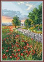 Counted Cross Stitch Kit OVEN - Morning on the way