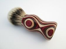 SpectraPly Colorful 24mm Silvertip Badger Shaving Brush (Handmade in USA)