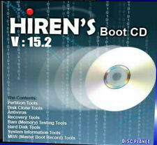 HIRENS BOOT UTILITY PC CD FIX MOST PC BOOT BIOS NETWORK + PROBLEMS EASY FAST NEW