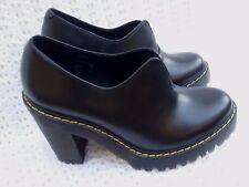 Dr. Martens Cordelia Dress Pump Black Leather Woman's Shoes Size 6 NEW